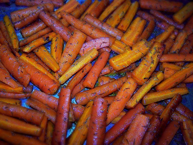 Baked Seasoned Carrot Fries