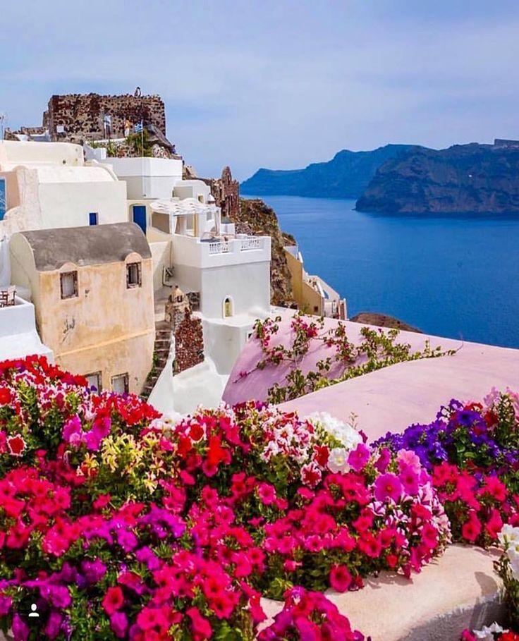 """dreamingofgoingthere: """"Santorini, Greece """""""