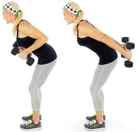 SIMPLE EXERCISES 2 REDUCE BRA BULGE | STRAIGHT TRICEP KICKBACK | REPEAT THIS MOVEMENT FOR 1 MINUTE