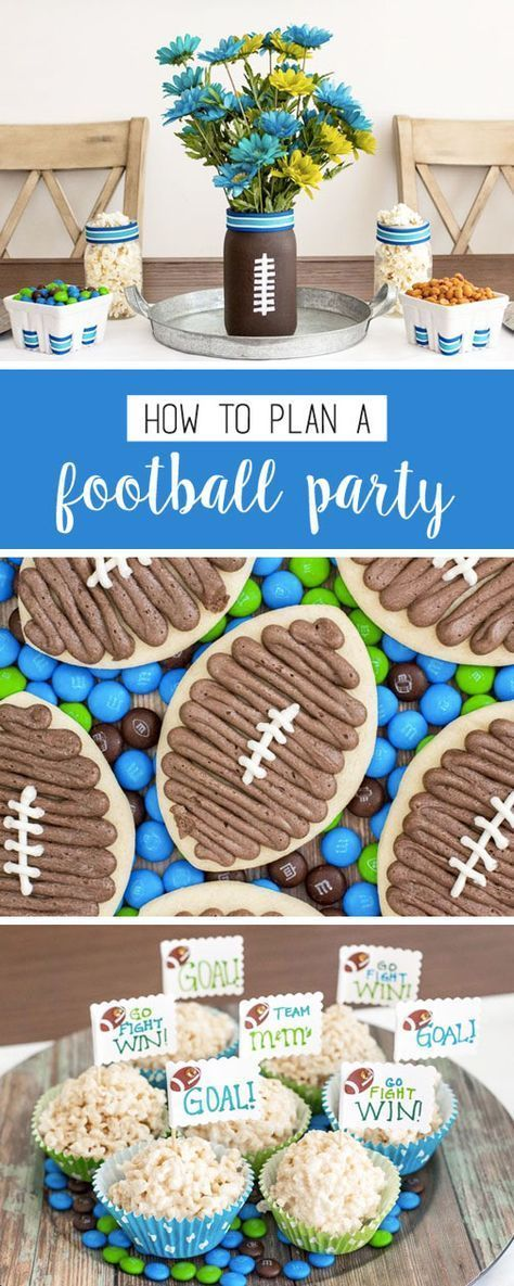 You name it, this collection of ideas on how to plan a football-themed party will have it! You'll find easy DIY vases, touchdown-worthy homemade desserts, and even sweet and salty snack ideas using M&M'S®️️ Game Day Mix—perfect for cheering on your favorite team this fall! Plus, find everything you need to makes these at CVS.
