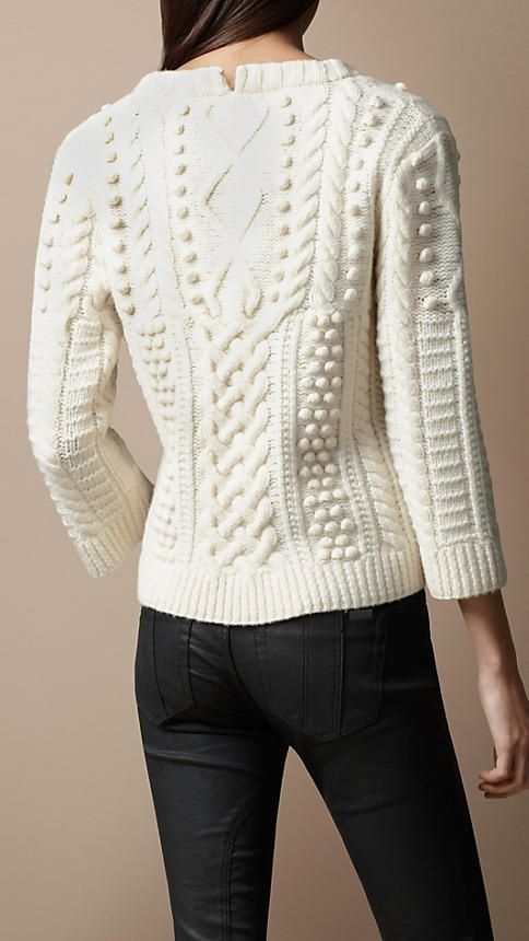 Cable Knit Sweater | Burberry: