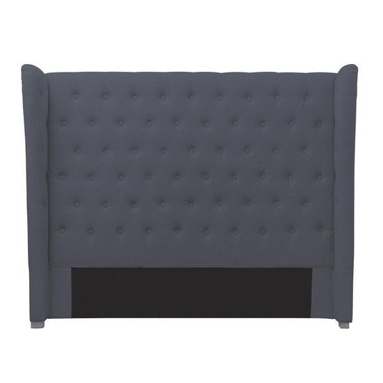 Charcoal Antoinette Double Headboard, £249 at dunelm-mill.com