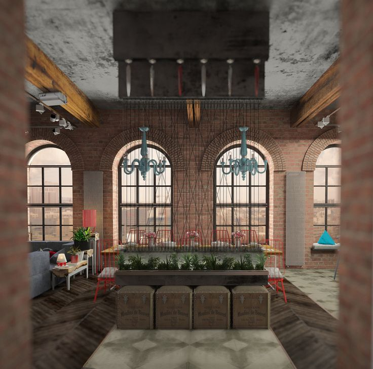 В стиле JAZZ - Кухня в современном стиле   PINWIN - конкурсы для архитекторов, дизайнеров, декораторов