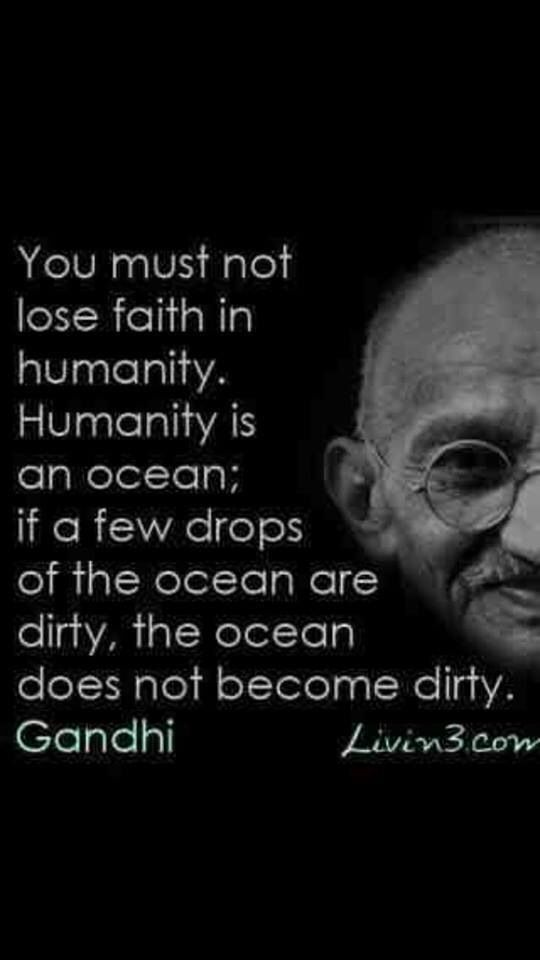 This quote makes me hopeful as I worry about our world which my children will inherit.