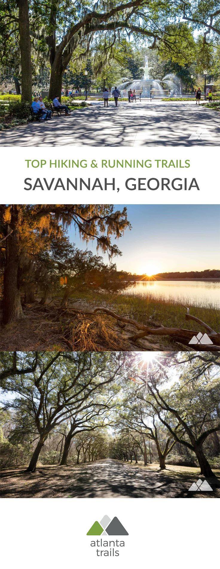 Savannah Running And Hiking Our Favorite Savannah Trails Savannah Chat Hiking In Georgia Outdoors Adventure