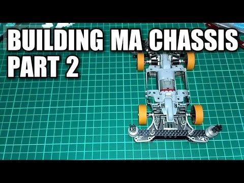 Building MA chassis Part 2【ミニ四駆】Tamiya Mini 4WD #3