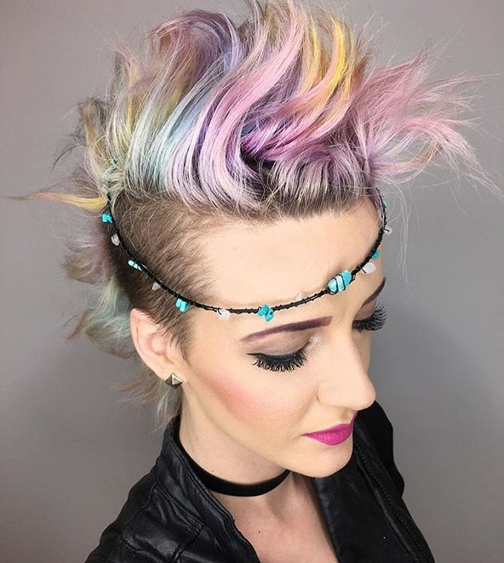 """""""@kailycutshair is the artist... Pulp Riot is the paint."""""""