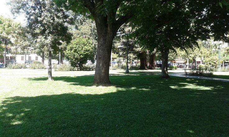 Hermosa Plaza de Mulchén