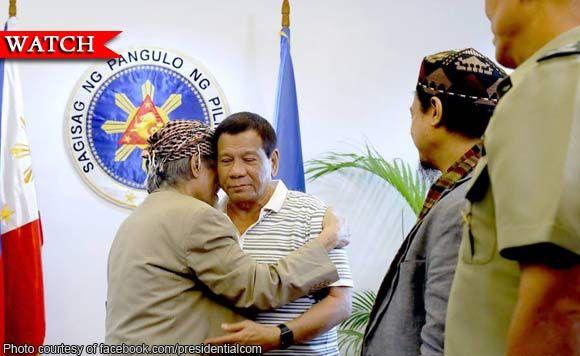 President Rodrigo Duterte accepts Nur Misuari's offer to fight vs Maute group