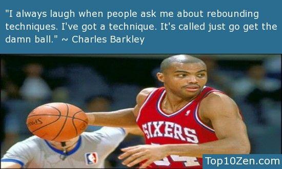 Charles Barkley >> 20 Inspirational Basketball Quotes To ...