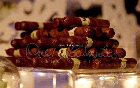 sigari cubani di cioccolato