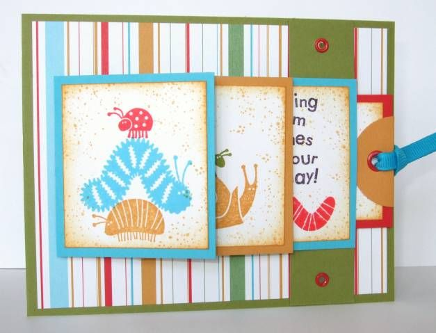 79 best images about su bugs and kisses on pinterest for Waterfall design in scrapbook