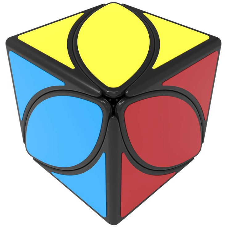 QiYi Mofangge Ivy Cube Black_Skewb_Cubezz.com: Professional Puzzle Store for Magic Cubes, Rubik's Cubes, Magic Cube Accessories & Other Puzzles