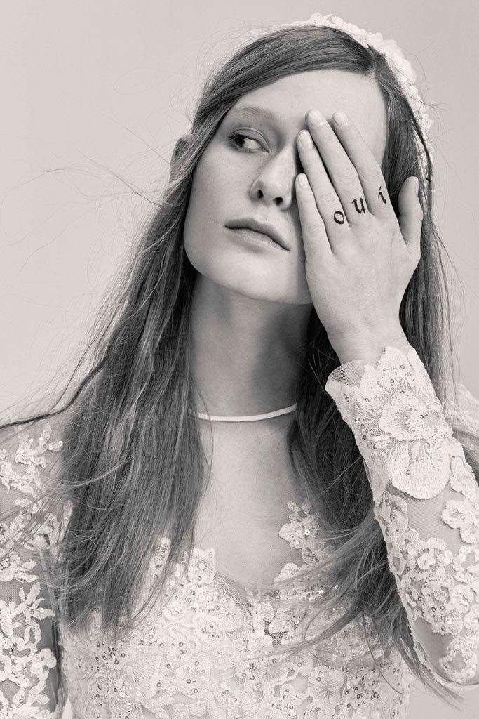 Elie Saab -wedding tattoos inspiration- New York Bridal Week