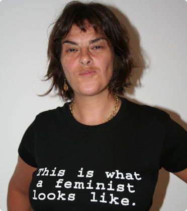 Tracey Emin - Born 1963. Croydon, England. Artist.  Part of a group known as Britartists or YBAs.