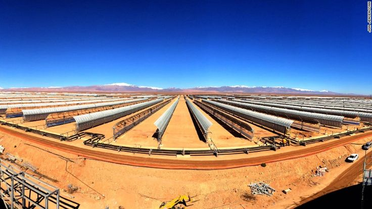 http://www.solarquot.es/MoroccoSolar Morocco's new solar power plant will cover a 30 square kilometer area outside the city of Ouarzazate.<br />