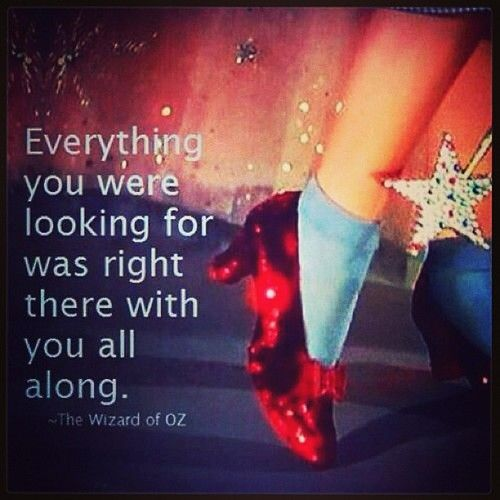 Wizard of Oz Someone said this to me once...