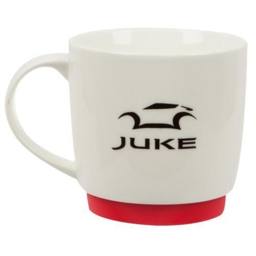 Nissan-Juke-Nismo-White-Mug-Coffee-Cup-with-Rubber-Base-New-Genuine-JUKE016
