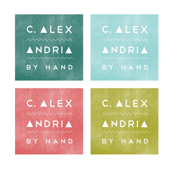C. Alexandria | By HandCards Design, Emma Robertson, Hands, Logo Design Packaging, Colors Palettes, Texture Travel, Custom Jewelry, Aqua, Colors Inspiration