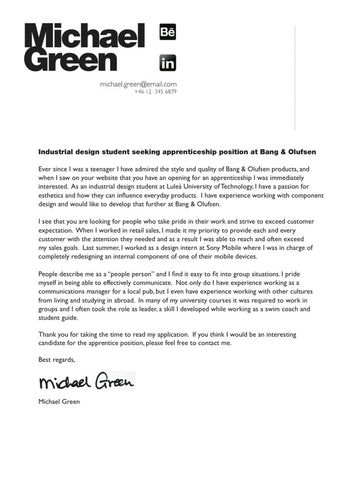 Industrial engineering entry level cover letter Advanced - designer cover letter