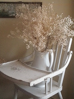 love this! just move the floral and plop a grandbaby in the chair!