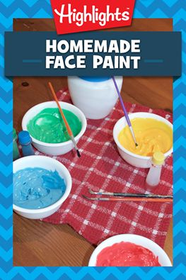 Did you know you can make your own DIY face paints using just 4 household ingredients? This would be a perfect addition to a last-minute Halloween costume!
