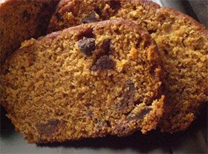 Chocolate Chip Pumpkin Bread!