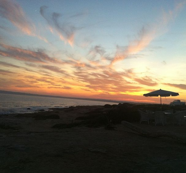 Magical sunset at 10punto7 Formentera
