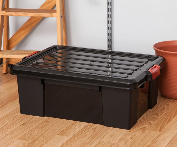 11 Gallon Heavy Duty Storage Tote