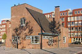 Het Olympiahuisje (het huisje aan Stadionplein nr. 18), ook wel Portiershuisje, of Noordelijke Dienstwoning genoemd, is een voormalige portierswoning op het terrein in Amsterdam, waarop de Olympische Spelen van 1928 plaatsvonden. Tijdens deze spelen deed het dienst als postkantoor. Net als het Olympisch Stadion is het ontworpen door architect Jan Wils. Bouwstijl Amsterdamse school.