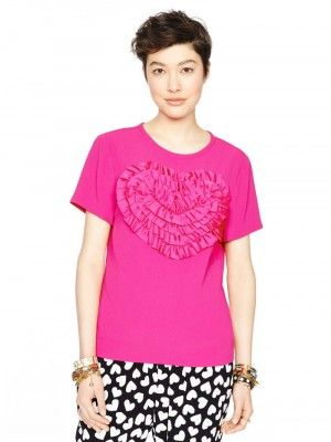 $146 kate spade heart madison ace. top