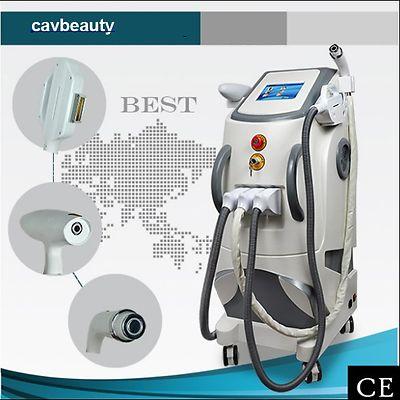Elight ND YAG Laser face whiten  RF skin tighten ipl hair removal beauty machine