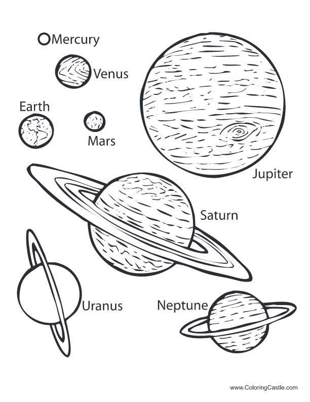 88 best images about solar system sun moon stars color for The solar system coloring pages