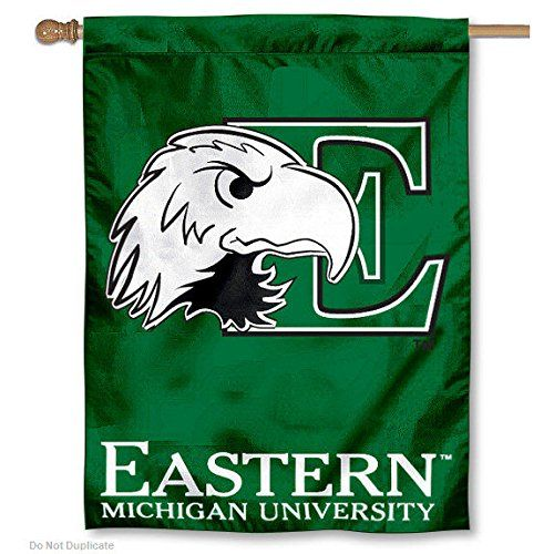 Eastern Michigan University Eagles House Flag