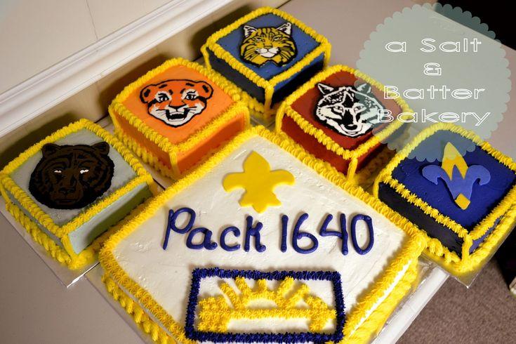 Cub Scouts Cake. Cub Scout Banquet. Banquet Cake. Cub Scout Patches. Cub Scout Levels. Bear Cake. Tiger Cub Cake. Bobcat Cake. Wolf Cake. Webelos Cake. Arrow of Light. Fleur de Lis. - a Salt & Batter Bakery