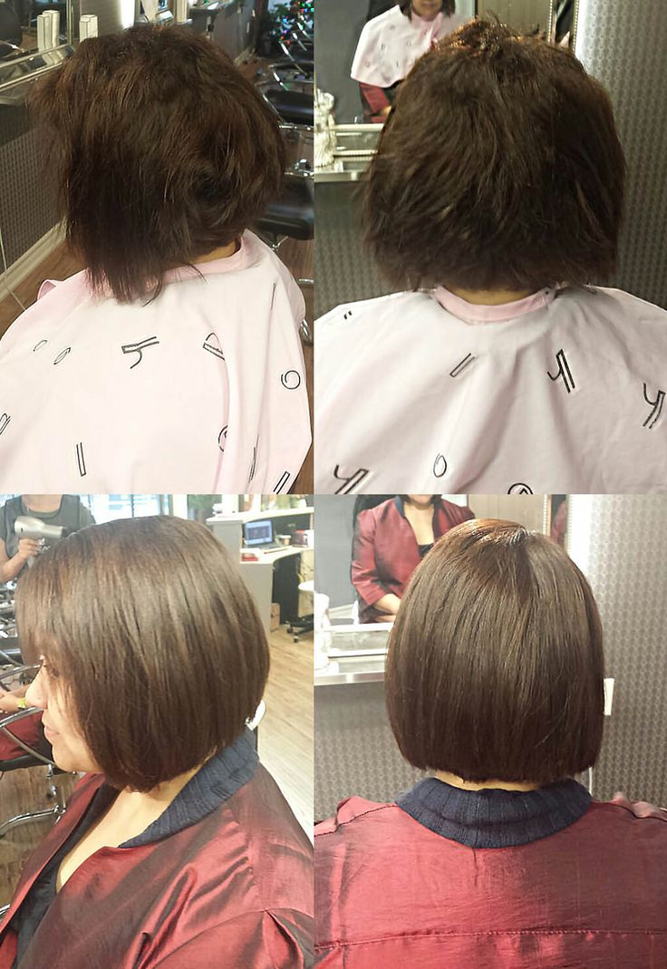 Best japanese straight perm - Sample Pictures Of The Customer Who Had Japanese Straight Perm At Momo Hair Salon In Toronto