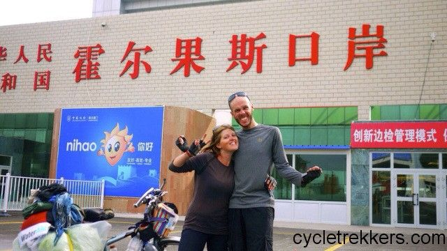 We made it to China by bicycle from France, during our France to China cycle tour. We cycled 8,5000km through 14 countries.