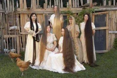 Красота твоих волос.