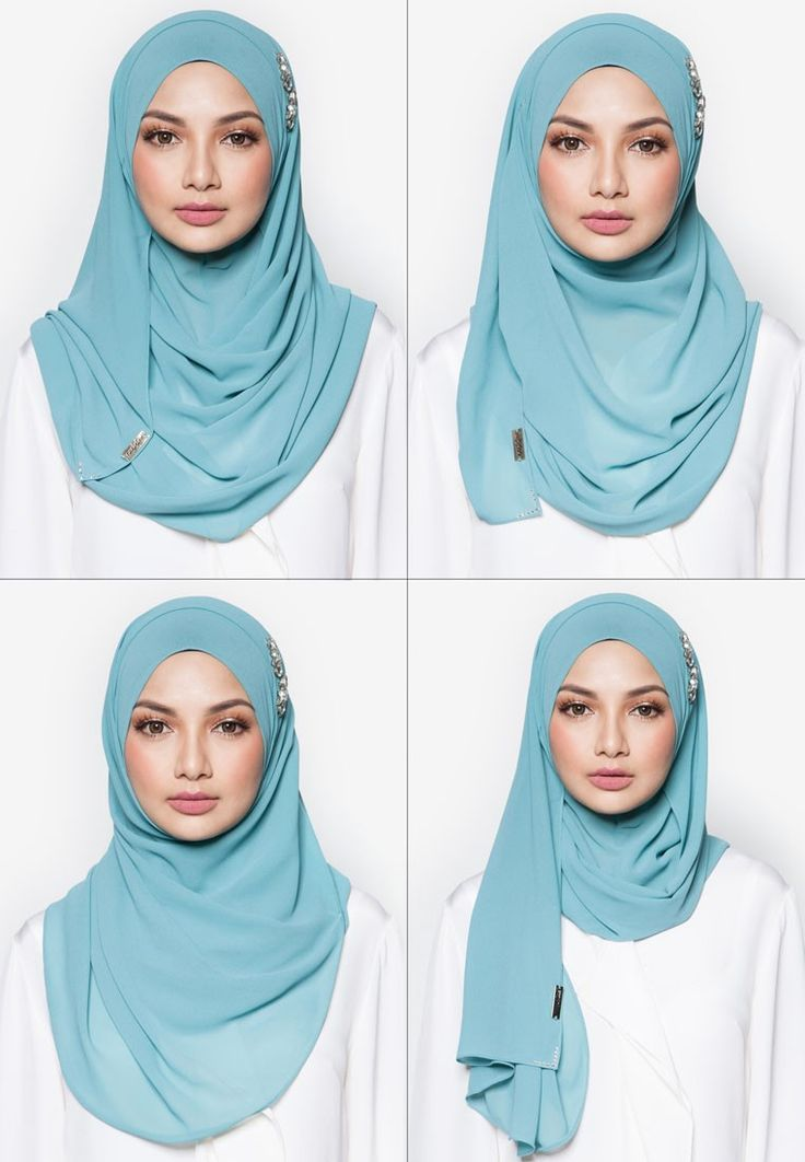 Magical Instant Shawl from Naelofar for ZALORA in green_4