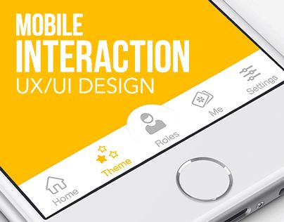"Check out this @Behance project: ""Mobile Interaction Design"" https://www.behance.net/gallery/22981559/Mobile-Interaction-Design"