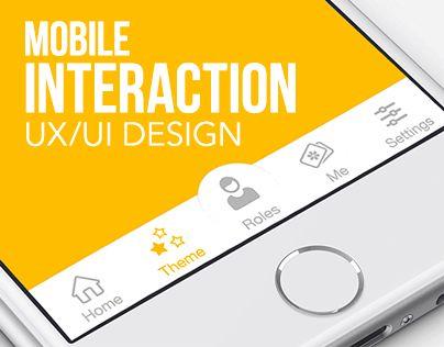 查看此 @Behance 项目: \u201cMobile Interaction Design\u201d https://www.behance.net/gallery/22981559/Mobile-Interaction-Design