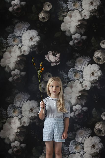 Clothes by Caramel Baby. Wallpaper by Ellie Cashman.