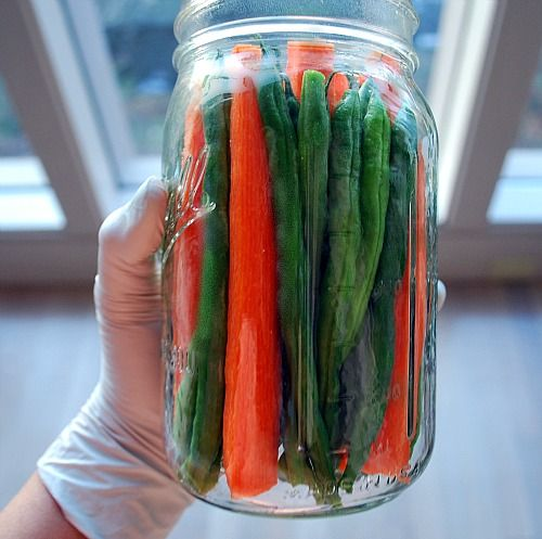 Cajun-style Pickled Green Beans & Carrots - The Art of Preserving, made easy. -