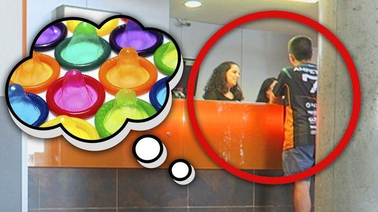 """QUIEN PIERDA PIDE CONDONES EN RECEPCIÓN DEL HOTEL [RETO CÁMARA OCULTA] - VER VÍDEO -> http://quehubocolombia.com/quien-pierda-pide-condones-en-recepcion-del-hotel-reto-camara-oculta    Hacemos un RETO y el que pierda tiene que ir a la recepción del hotel a pedir condones o preservativos. ★ Vídeo de Agustín ★ Vídeo de Ampeter  ★ YouTubers del """"ADIVINA EL YOUTUBER"""" • • •  ► ¡Sígueme! • Suscríbete al Canal! • Twitter! • Instagram! •"""