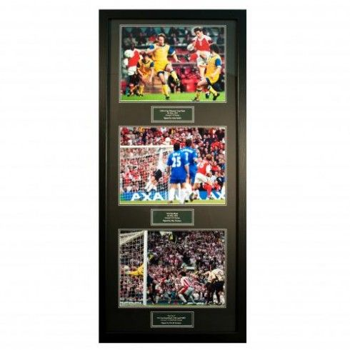 Arsenal F.C. Treble Legends Signed Framed Prints