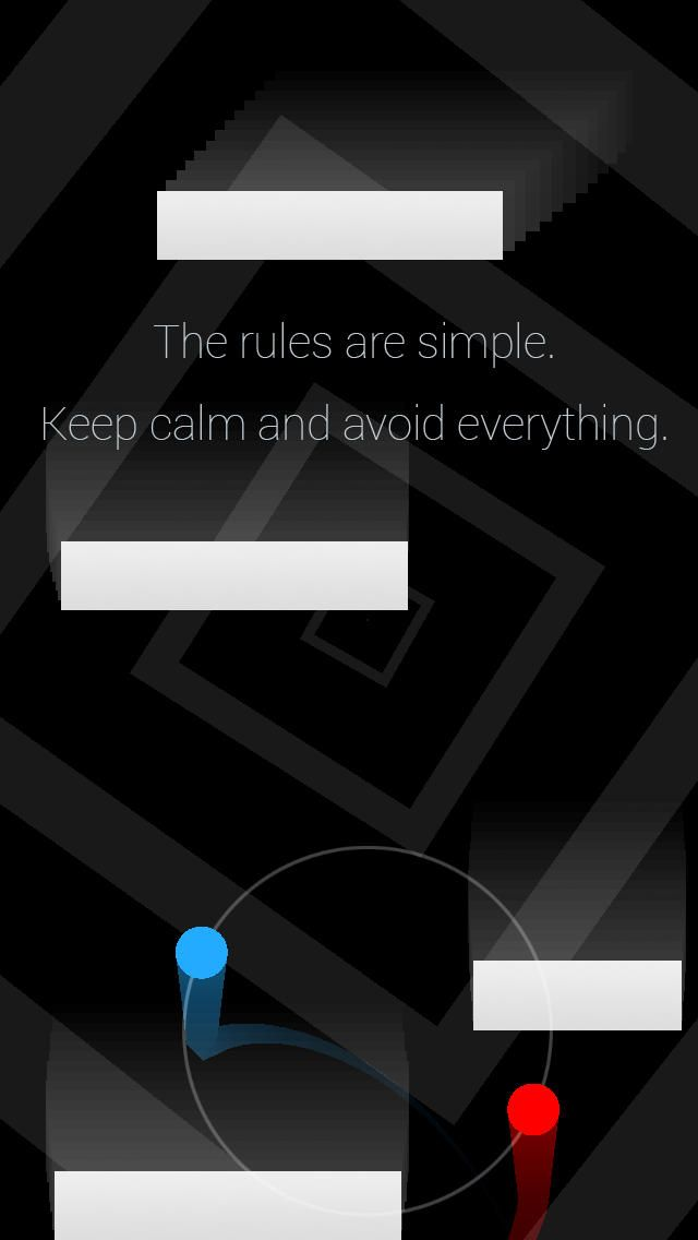Duet Game: Enter a mesmerising trance of co-dependence in Duet. The rules are simple: control two vessels in sync, survive against all odds and keep calm. Best, Most Elegant iPhone Games of the Year 2013