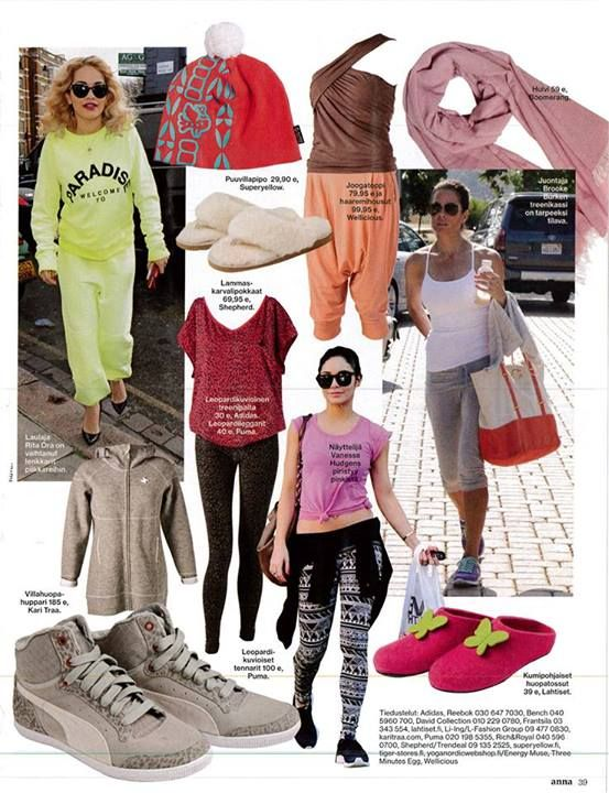 Spring is coming.. Get ready! MAYA beanie in Anna magazine 32/2013