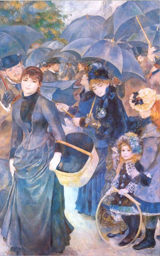 Gli ombrelli - Renoir 1881-1885