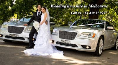 You want to book a car for your wedding ceremony.Now you dont have to worry about whether your fianc� will show up to the wedding on time and where the wedding party will be for the ceremony, then you should use the premier wedding car and wedding limo hire in melbourne has to offer #weddingcarhiremelbourne, #melbourneweddingcarhire, #WeddinglimoHireinMelbourne, #LimosHireMelbourne http://vhalimosmelbourne.blogspot.in/2016/01/wedding-limo-hire-in-melbourne.html