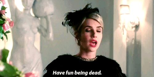 Pin for Later: 25 of Chanel's Harshest Burns on Scream Queens This Actually Sincere Wish